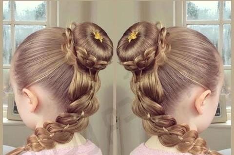 Cute%2BEasy%2BHairstyles%2BFor%2BLittle%2BGirls%2B%252823%2529 30 Cute Easy Hairstyles For Little Girls Interior