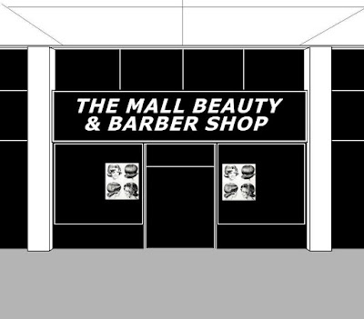 The first store stop, The Mall Beauty & Barber Shop .