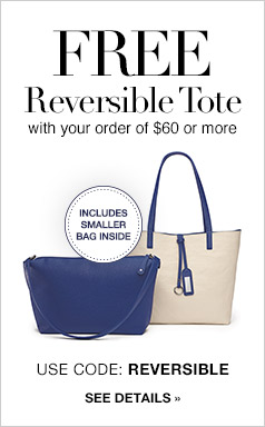 Free Reversible Tote Bag - See Details