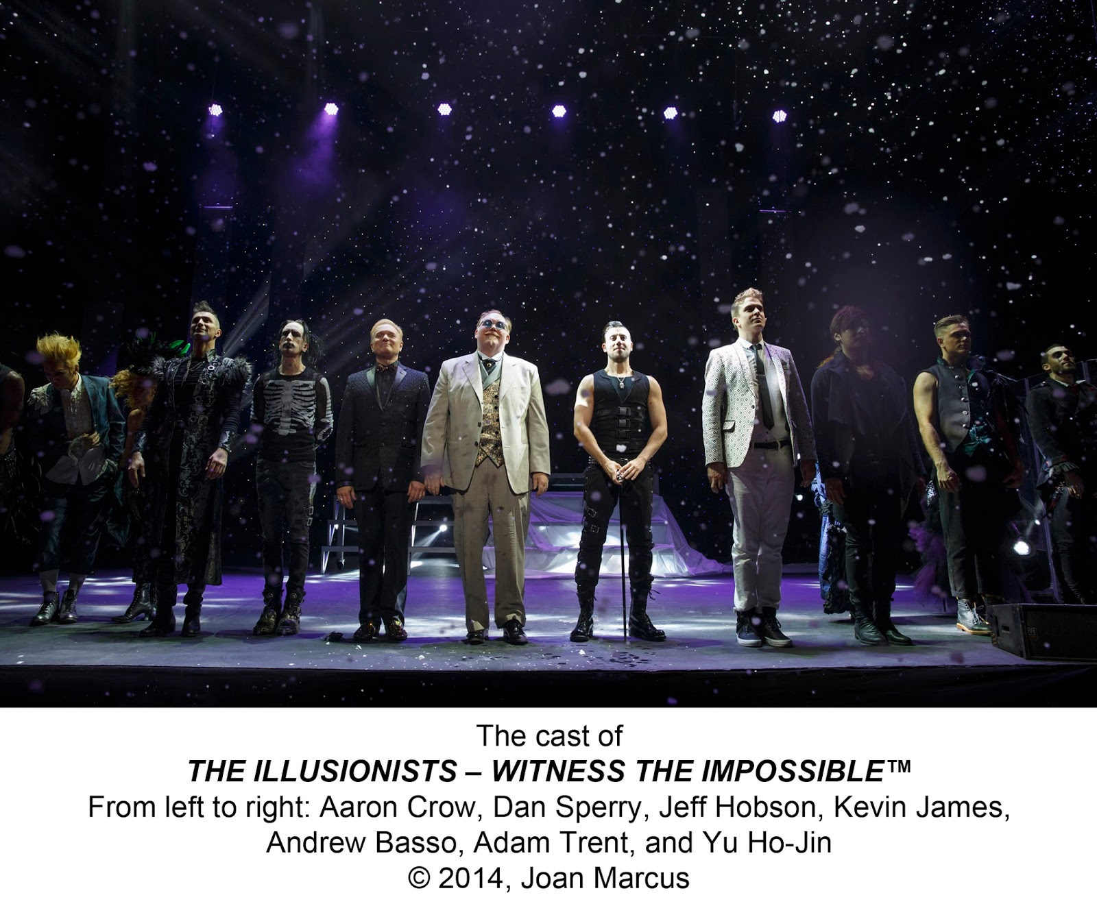 The Illusionists Live Tour