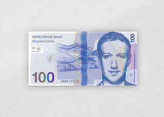 Moneda Facebook Mark Zuckerberg Brand Currency