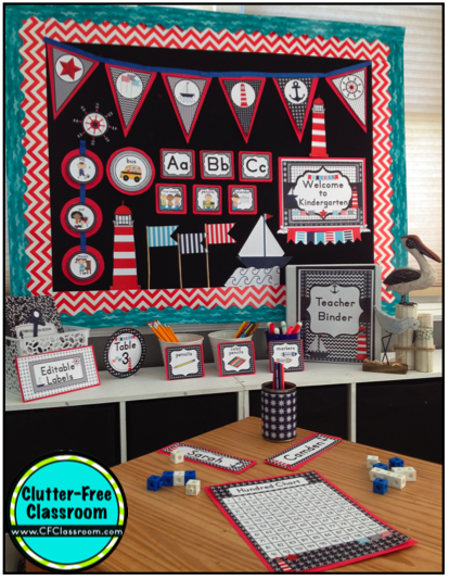 Classroom Decor Nautical ~ Nautical sailing themed classroom ideas photos tips