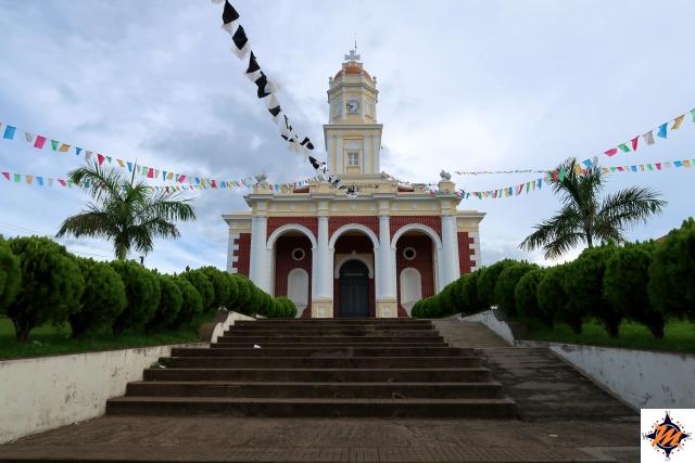 El Salvador. Santa Ana, Iglesia Católica El Carmen