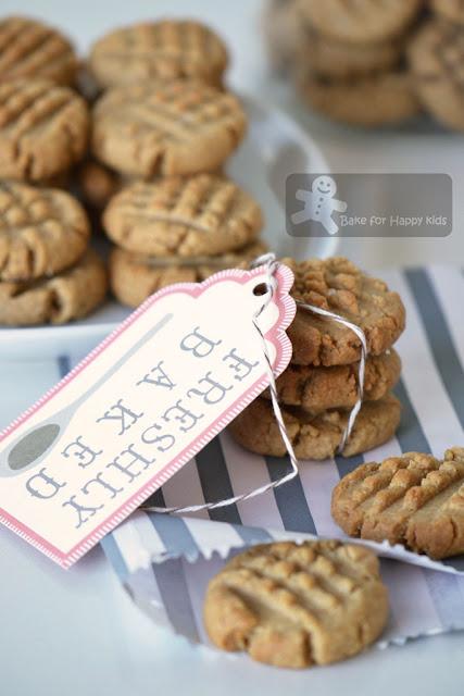 sea salt peanut butter cookies Jamie Oliver
