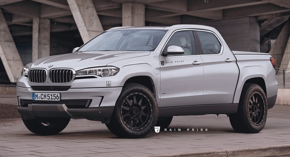 This BMW Pickup Truck Rival To The Mercedes-Benz X-Class ...