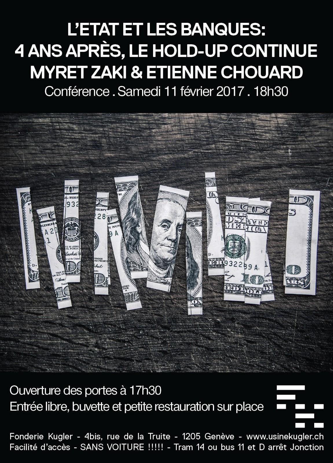Myret Zaki et Etienne Chouard à Genève le Sam. 11/02/ 2017 à 18h30