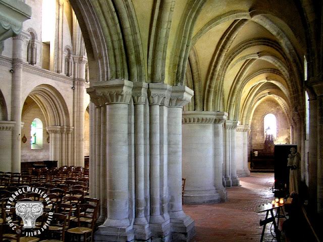 OUISTREHAM (14) - Eglise Saint-Samson (XIe-XIIe siècles)