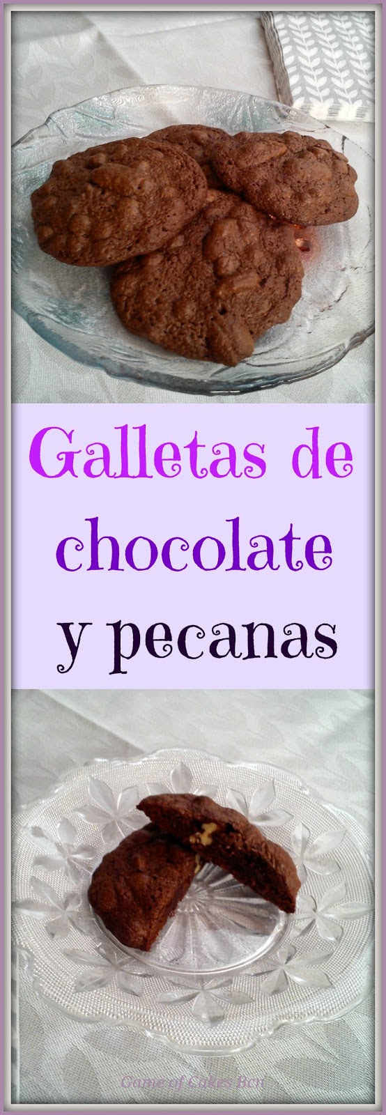 Collage de las Galletas de chocolate