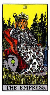 La Emperatriz, Tarot de Rider Waite