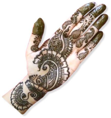 Karvachauth Mehndi Designs