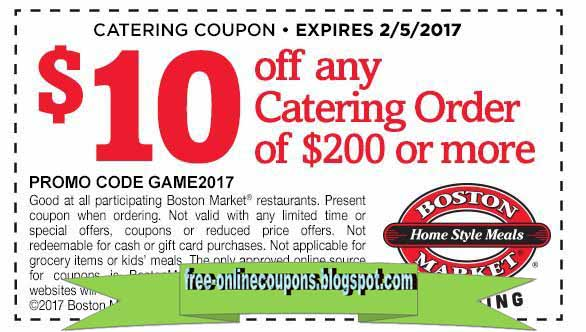 picture about Boston Market Printable Coupons titled Boston sector coupon printable - Snooze variety mattress exchange inside