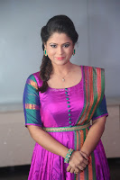 Shilpa Chakravarthy in Purple tight Ethnic Dress ~  Exclusive Celebrities Galleries 040.JPG