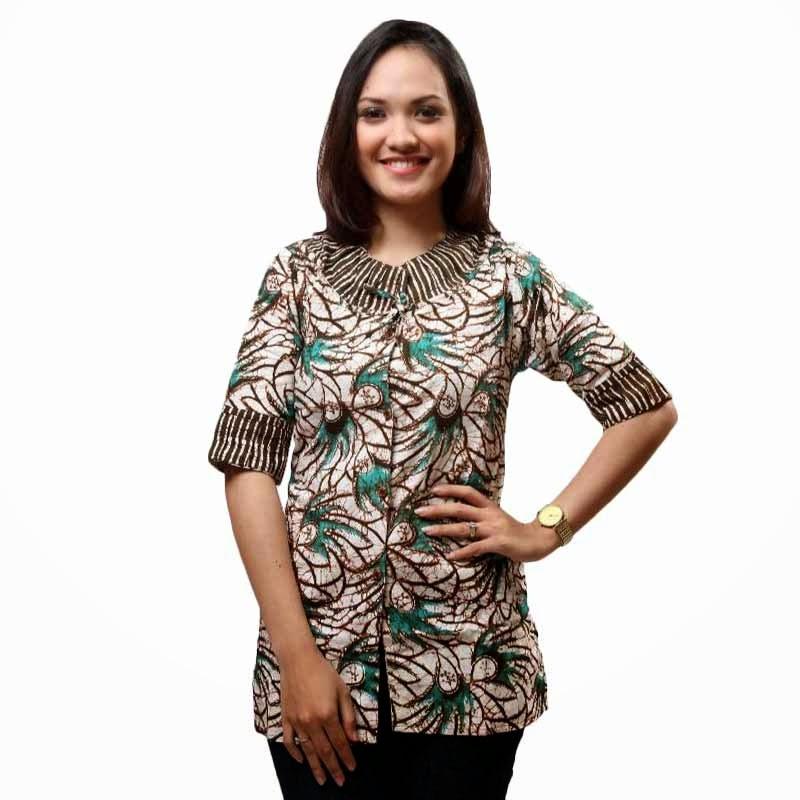 Desainer Baju Batik Wanita: Model Baju Batik Wanita Untuk Kerja Harian