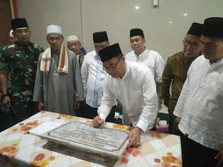 Plt Bupati OKI Peringati Nuzulul Quran Dan Meresmikan Masjid Agung At Taqwa Tugumulyo