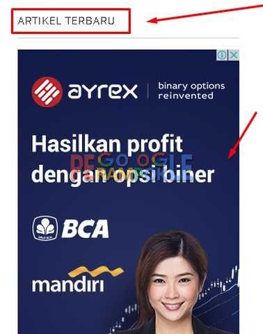 contoh menyeru agar pengunjung mengeklik iklan