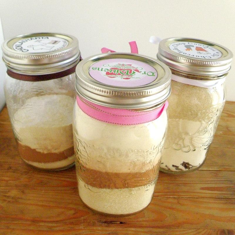 Deli-cute-essen: Homemade Vegan Cookie And Cake Mixes In A Jar
