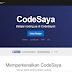 CodeSaya | Teman Anda dalam belajar Coding