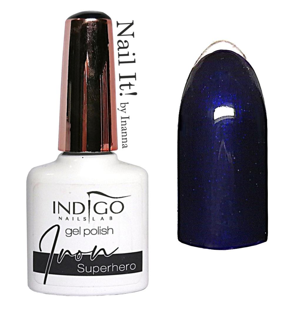 Comparison Indigo Nails Dark Blue Gel Polishes Billionaire Superhero Black Madonna