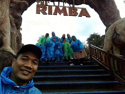 The Rimba, salah satu zona di Dino Park