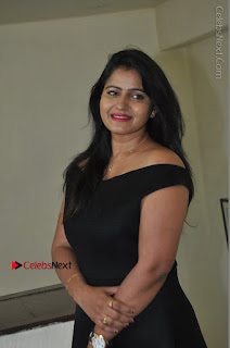 Telugu Actress Swathi Reddy Latest Stills in Black Gown  0047.JPG