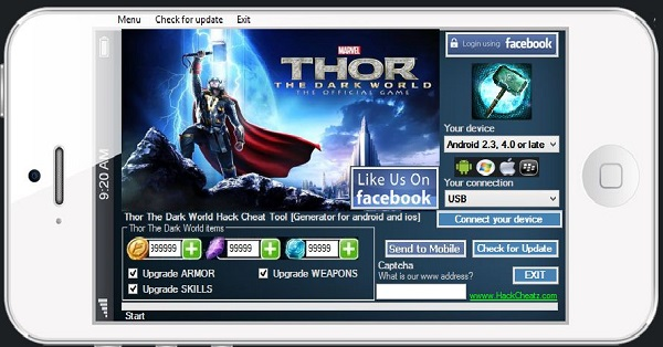Download Thor The Dark World iPhone Game