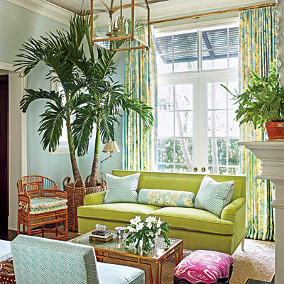 The Glam Pad Ashley Whittaker Energizes A Florida Town House
