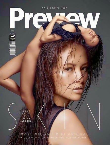 ellen adarna covers preview magazine s special collectors issue