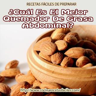 alimentos para bajar grasa en el abdomen