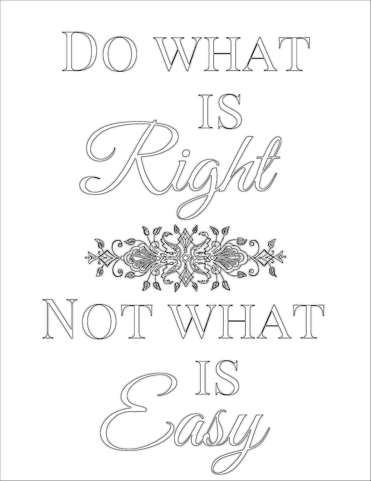 The Prudent Pantry: Do what is right, not what is easy