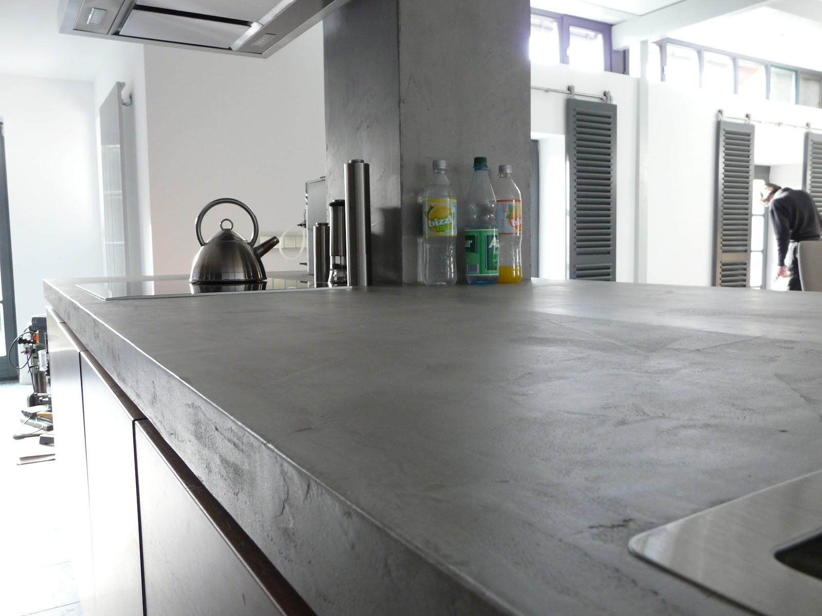 Beton Arbeitsplatte Kuche Kuche L Beton Produkt Harr Beton Design