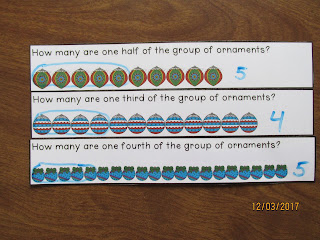 Ornaments Fractions of a Group