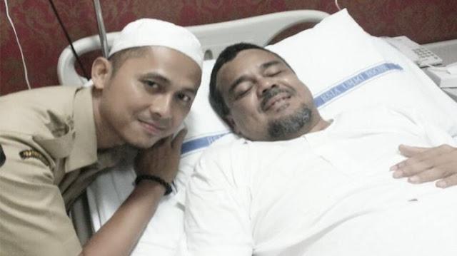Habib Rizieq Sakit Dan Rawat Inap di RS dari Selasa Siang