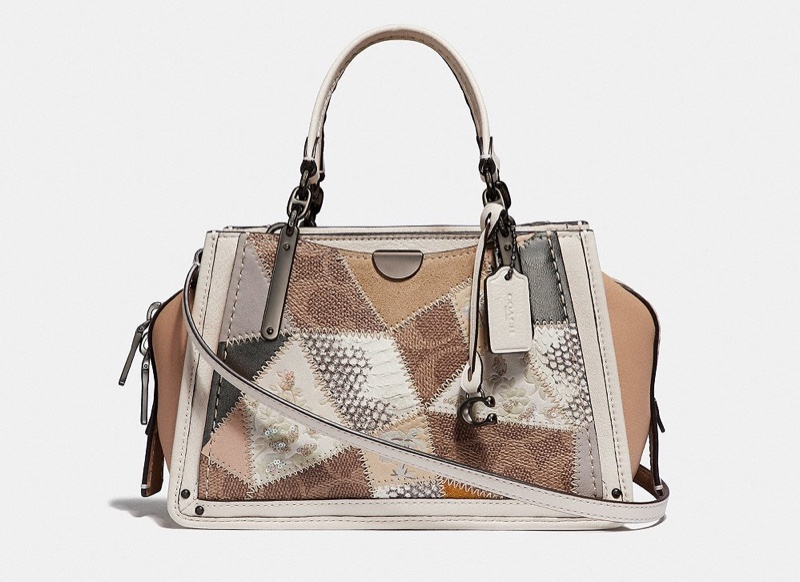 Coach Dreamer 21 Signature Patchwork Bag