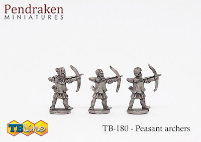 TB-180   Peasants with bow