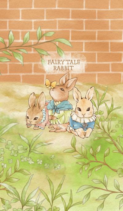 Fairy tale cute rabbit