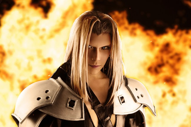Enjoy Cosplay Soldier Of Shinra Sephiroth Cosplay
