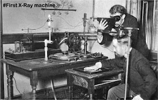 First X-Ray Machine