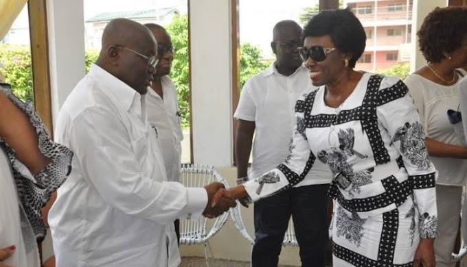 Nana Konadu leads government team to Winnie Mandela's funeral