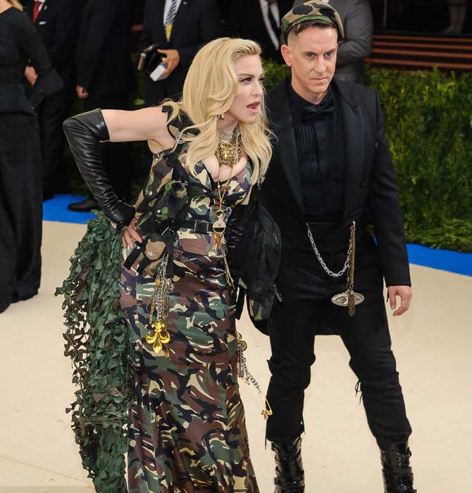 Madonna appears to be dating model Kevin Sampaio