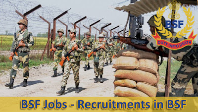 BSF constable requirement 2017