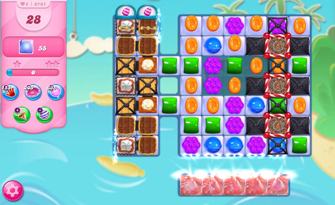 Candy Crush Saga level 6761