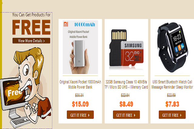 For who do not have the funds, don't worry you can simply tell the other person to any shopping in GearBest. You'll get a free gift item that is priced starting from 0.01 to 20 USD. Quite right! This promo, titled Get it Free!