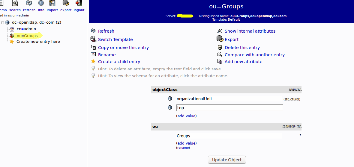Admin Stuffs: Creating Users and Groups in OpenLDAP using