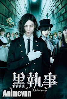 Kuroshitsuji Live Action - Hắc Quản Gia Movie 2014 Poster