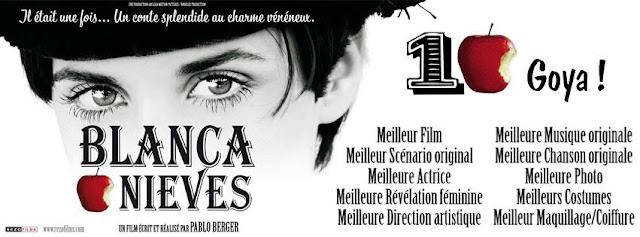 Blancanieves, la película ganadora de los Goya se proyecta en Casa América