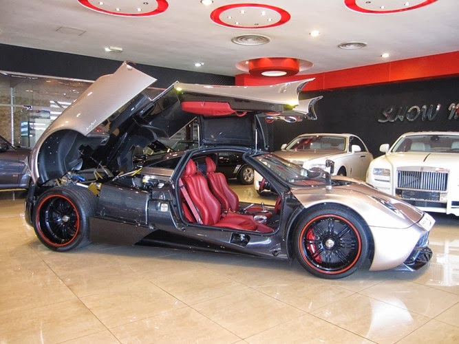 Prototype 0 Pagani Huayra For Sale In Dubai