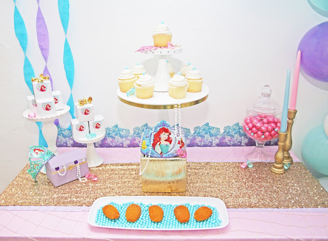 The Little Mermaid Party by popular South Florida party blogger Celebration Stylist