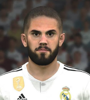 PES 2017 Faces Isco Alarcon by Ben Hussam FaceMaker