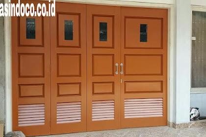 Jasa Pembuatan Pintu Garasi Besi Tangerang dan Sekitarnya Murah