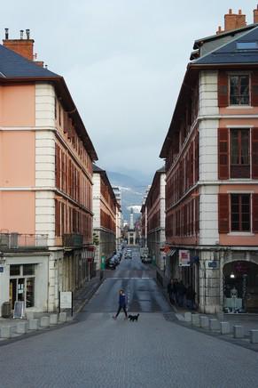 chambéry savoie vieille ville rue boigne